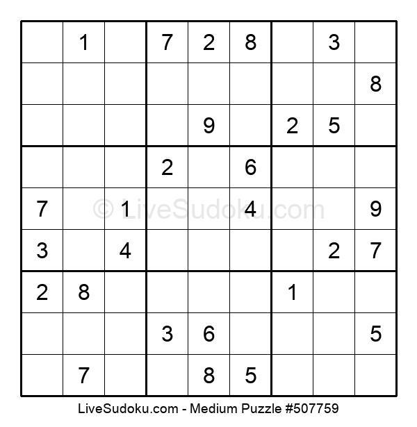 Medium Puzzle #507759