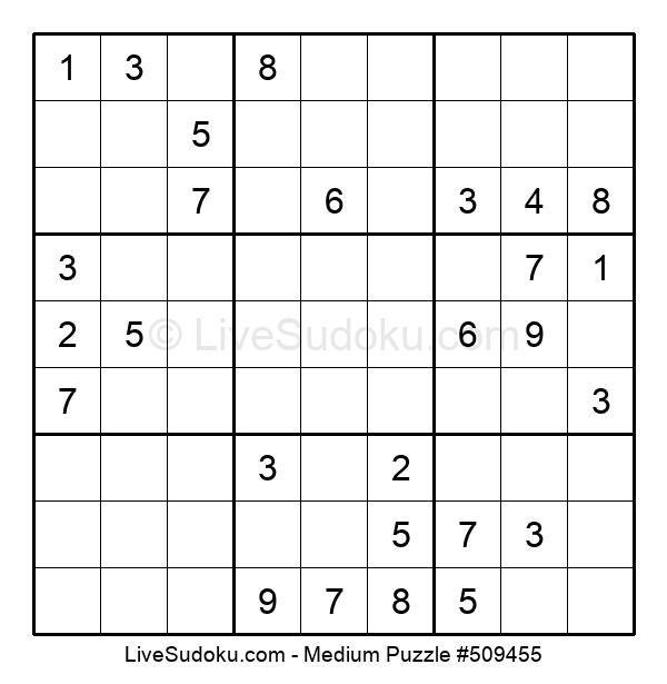Medium Puzzle #509455