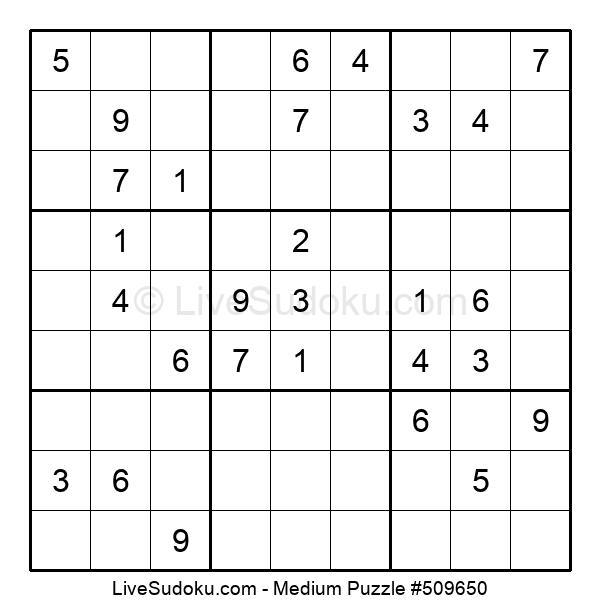 Medium Puzzle #509650