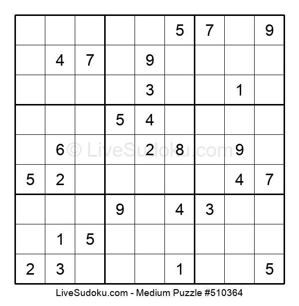 Medium Puzzle #510364
