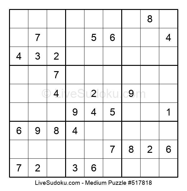 Medium Puzzle #517818