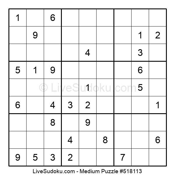 Medium Puzzle #518113