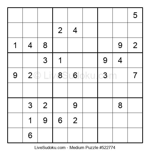 Medium Puzzle #522774