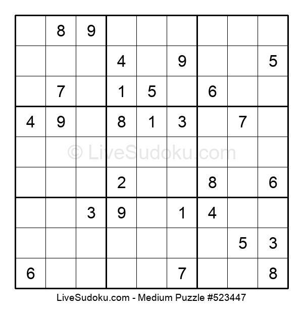 Medium Puzzle #523447