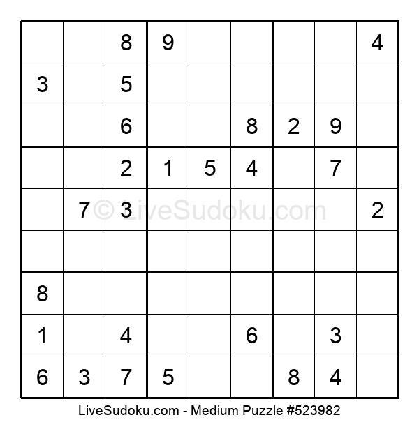 Medium Puzzle #523982
