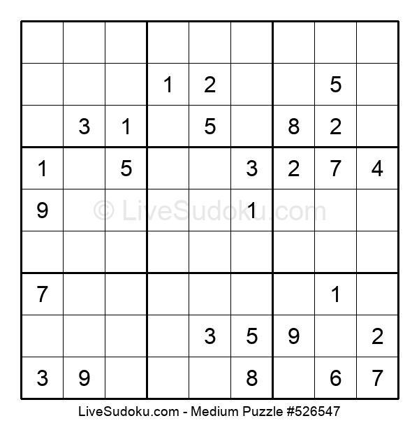 Medium Puzzle #526547