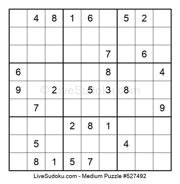 Medium Puzzle #527492