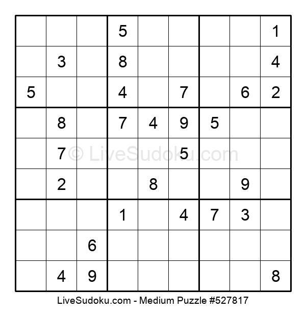 Medium Puzzle #527817