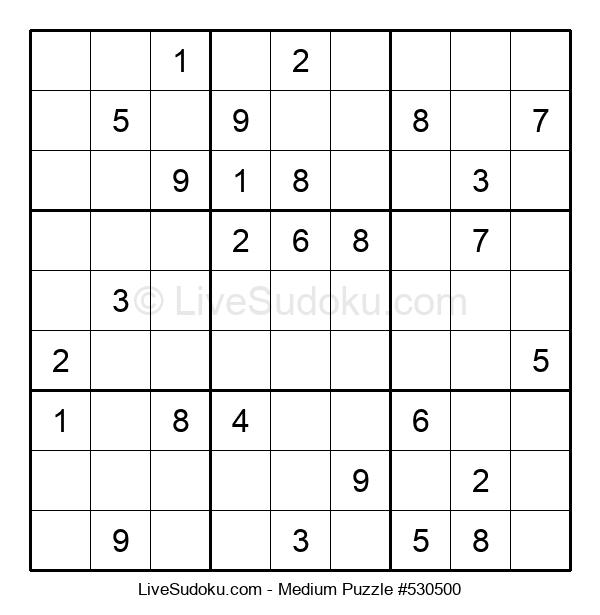 Medium Puzzle #530500