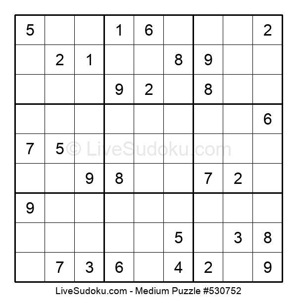 Medium Puzzle #530752