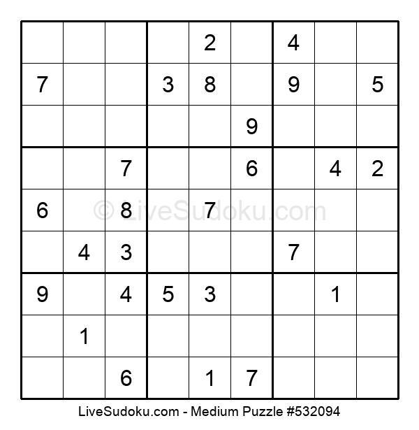 Medium Puzzle #532094