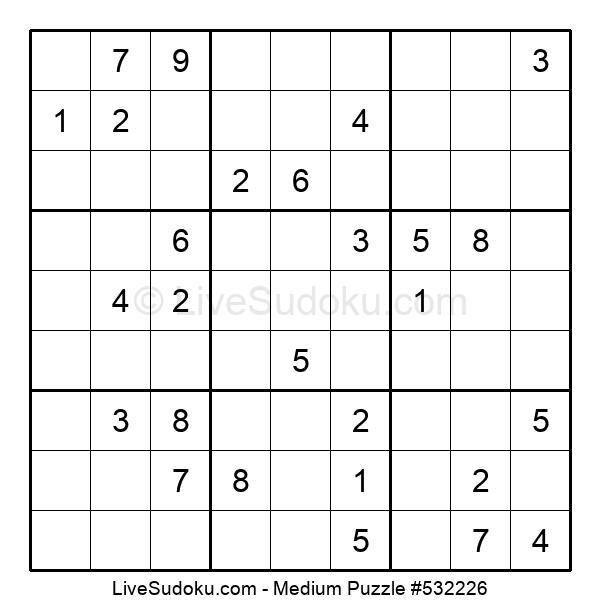 Medium Puzzle #532226