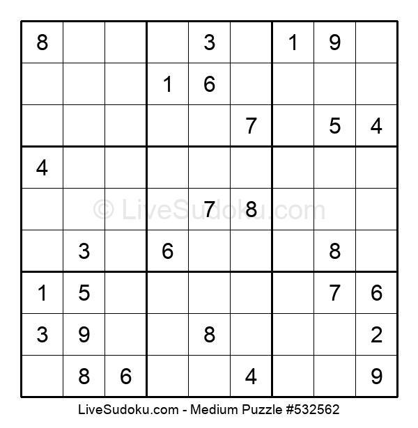 Medium Puzzle #532562