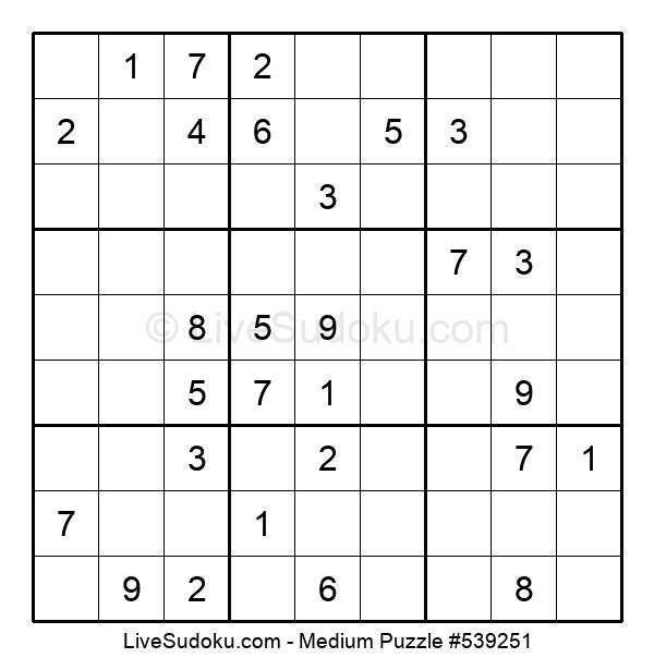 Medium Puzzle #539251