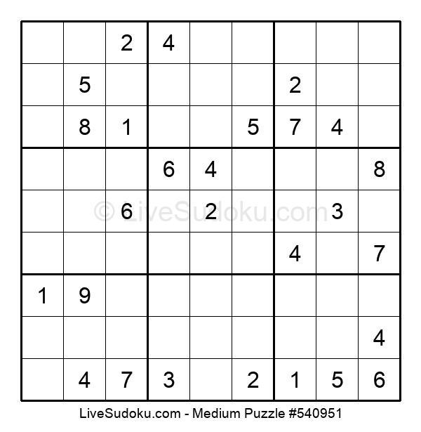 Medium Puzzle #540951