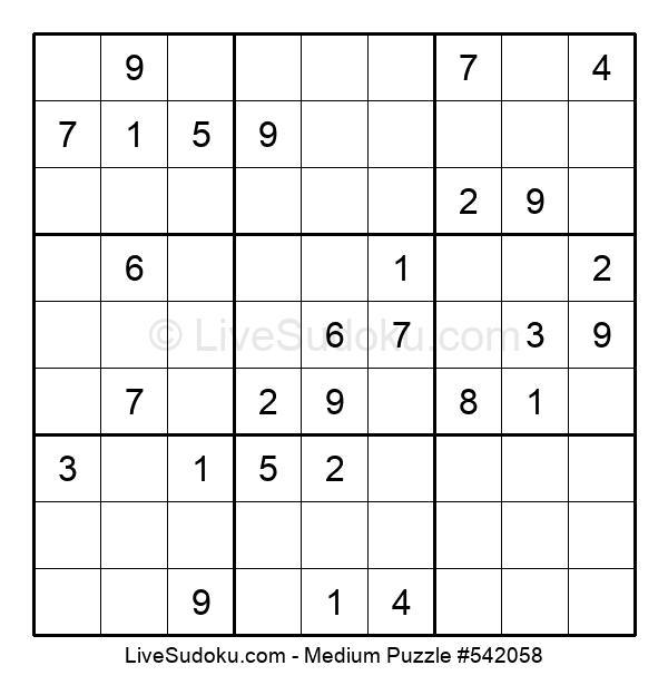 Medium Puzzle #542058
