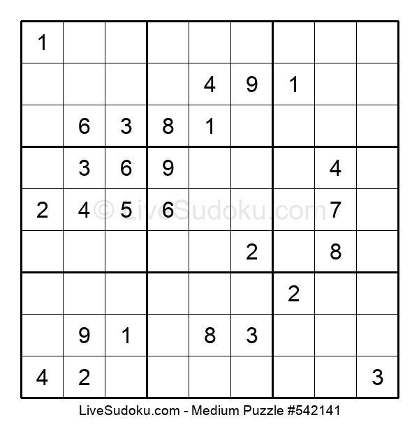 Medium Puzzle #542141