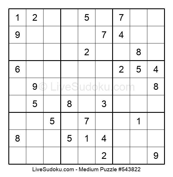 Medium Puzzle #543822