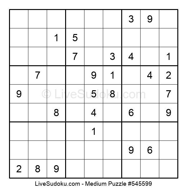 Medium Puzzle #545599