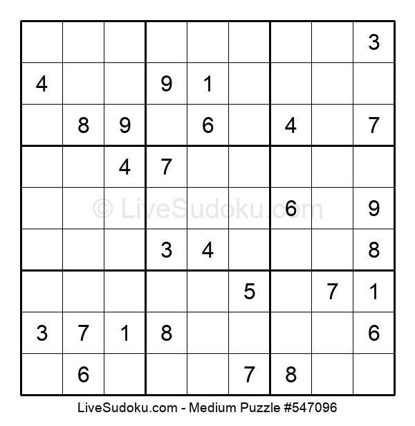 Medium Puzzle #547096