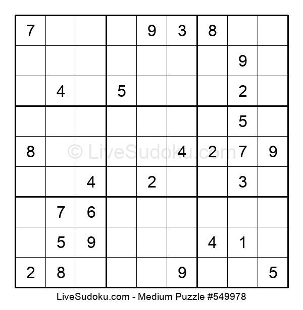 Medium Puzzle #549978