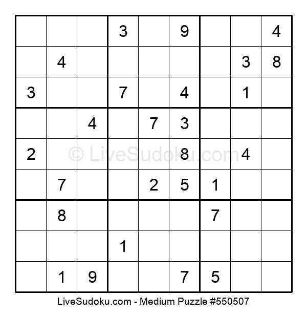 Medium Puzzle #550507