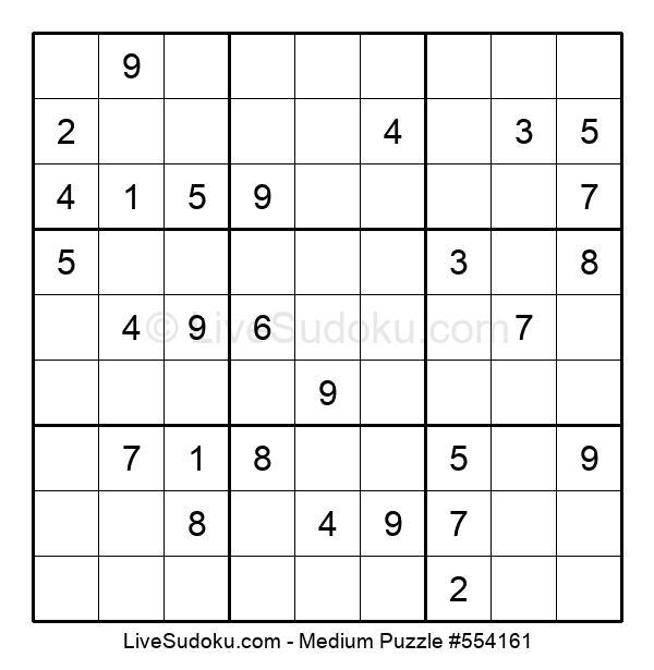 Medium Puzzle #554161