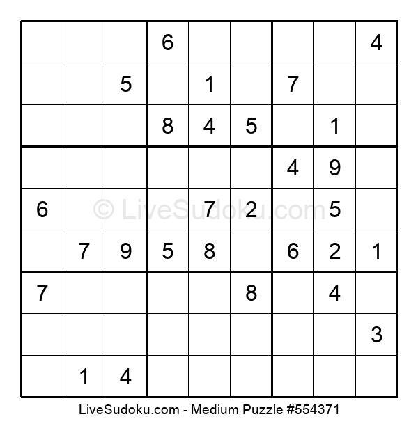 Medium Puzzle #554371