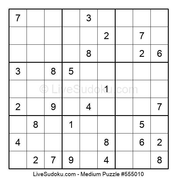 Medium Puzzle #555010