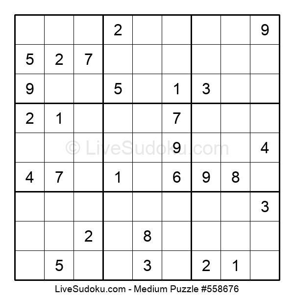 Medium Puzzle #558676