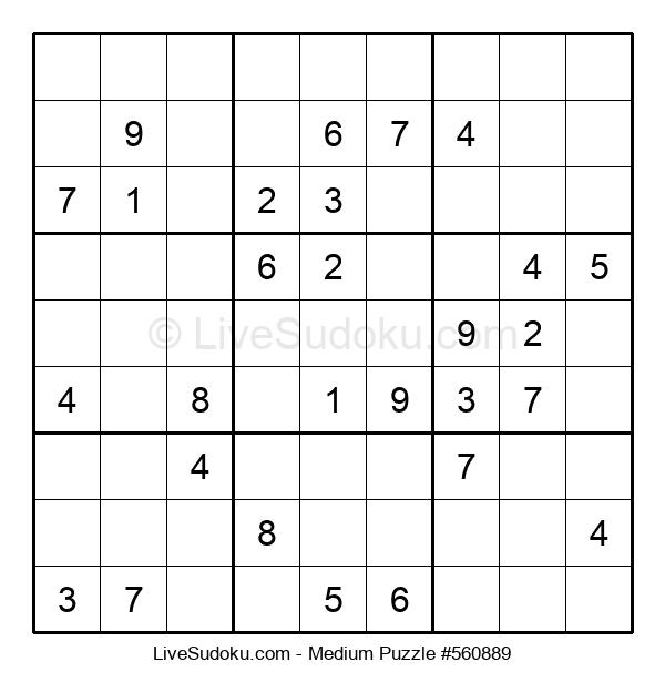 Medium Puzzle #560889