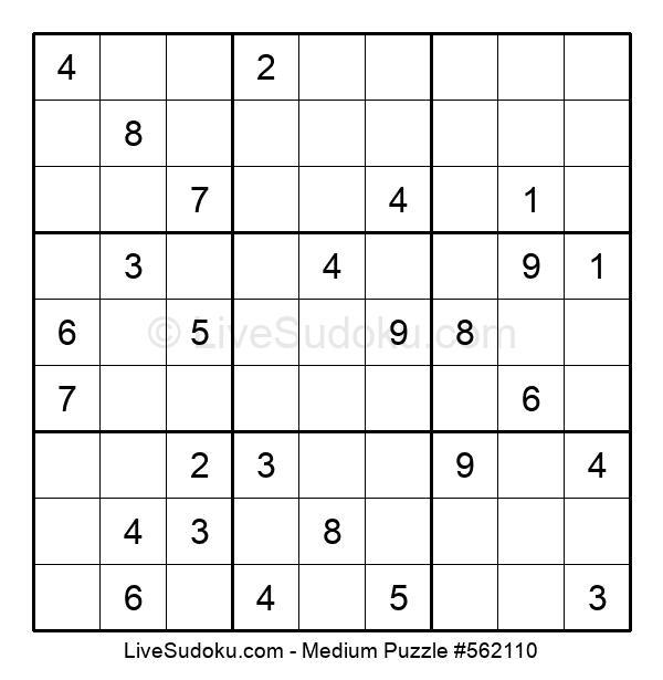 Medium Puzzle #562110