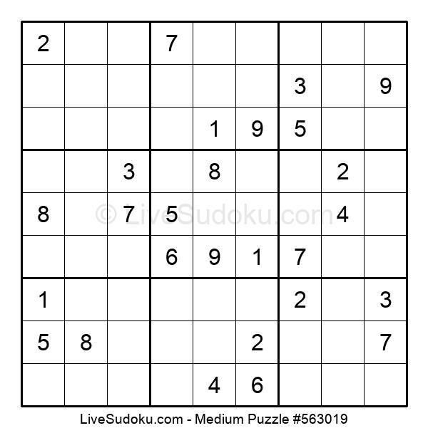 Medium Puzzle #563019