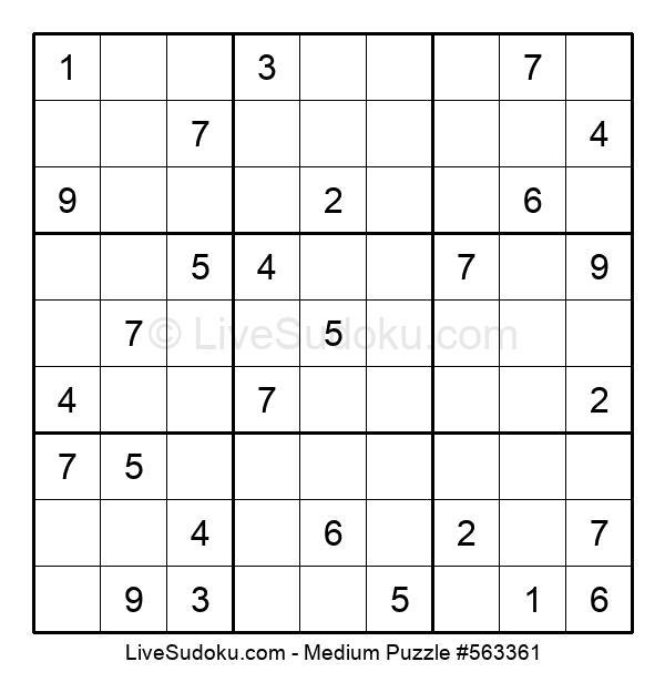 Medium Puzzle #563361