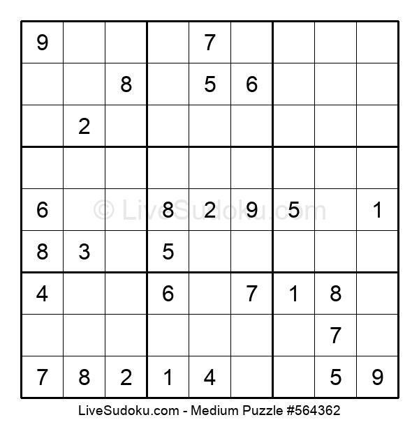Medium Puzzle #564362