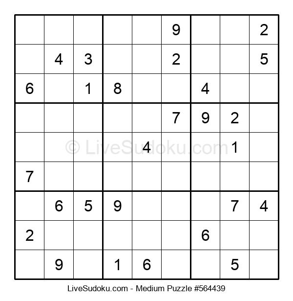 Medium Puzzle #564439