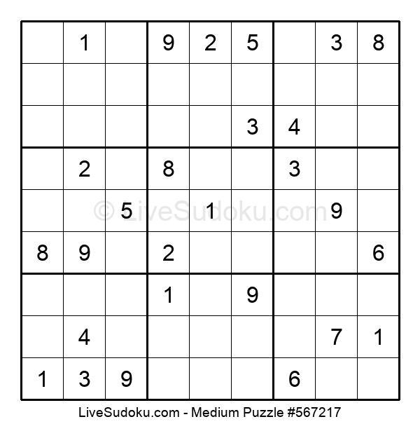 Medium Puzzle #567217