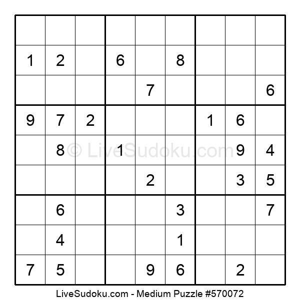 Medium Puzzle #570072