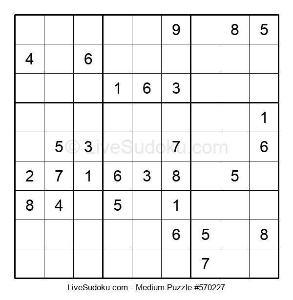 Medium Puzzle #570227