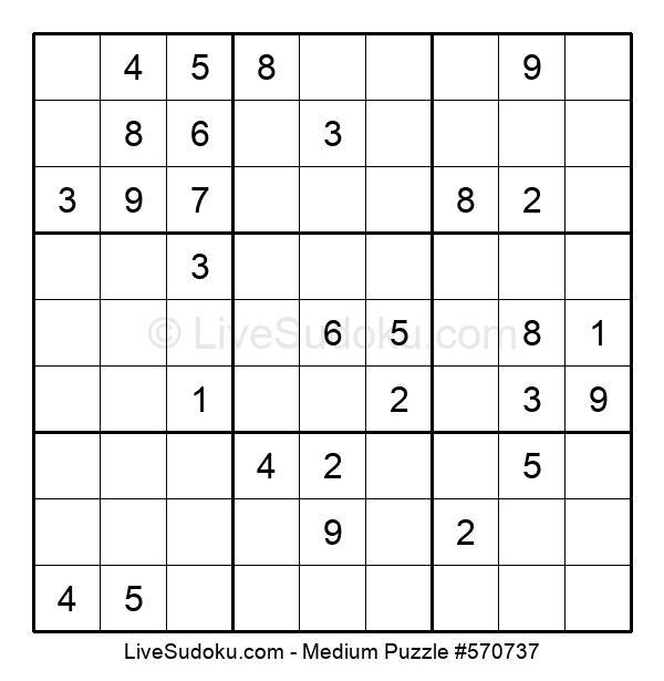 Medium Puzzle #570737