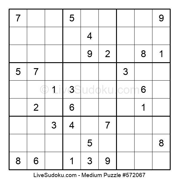 Medium Puzzle #572067