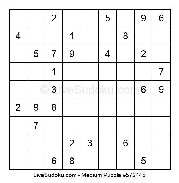 Medium Puzzle #572445