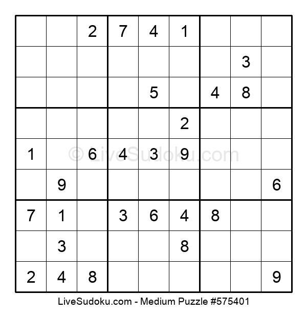 Medium Puzzle #575401
