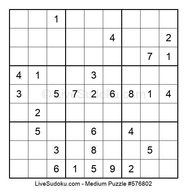 Medium Puzzle #576802