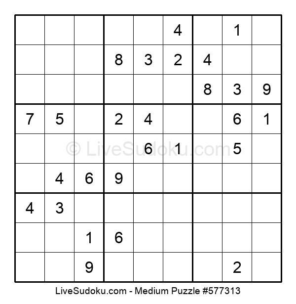 Medium Puzzle #577313