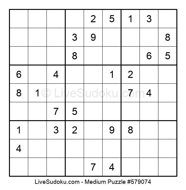 Medium Puzzle #579074