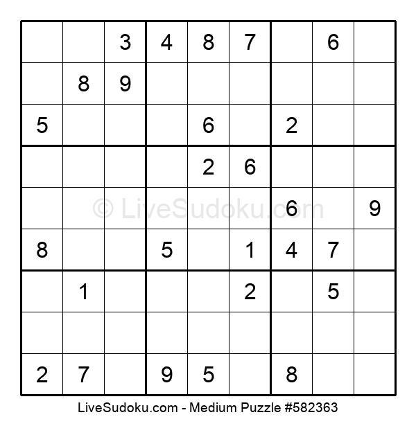 Medium Puzzle #582363