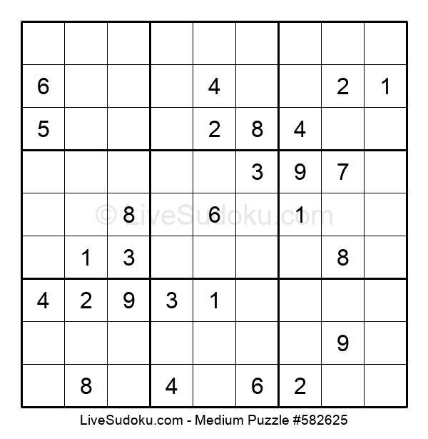 Medium Puzzle #582625