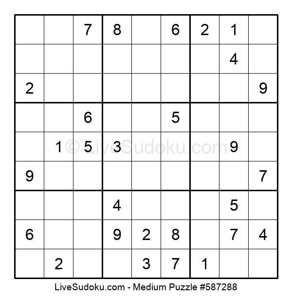 Medium Puzzle #587288