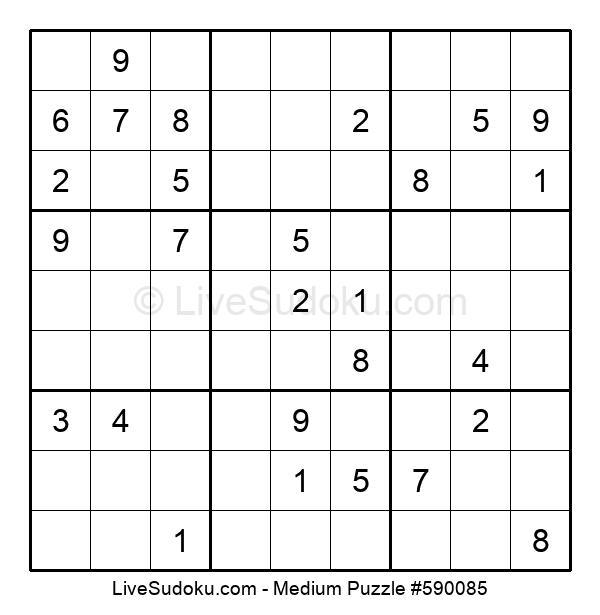 Medium Puzzle #590085